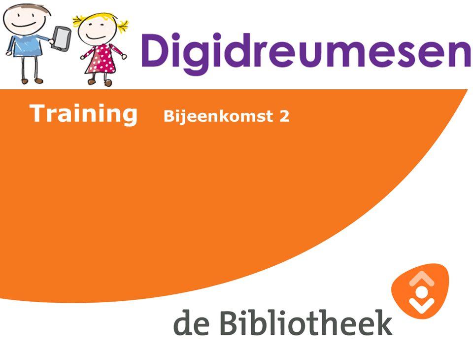 Training Bijeenkomst 2