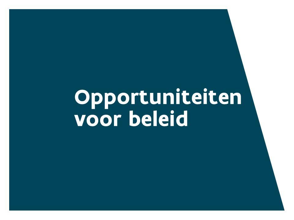 Opportuniteiten voor beleid