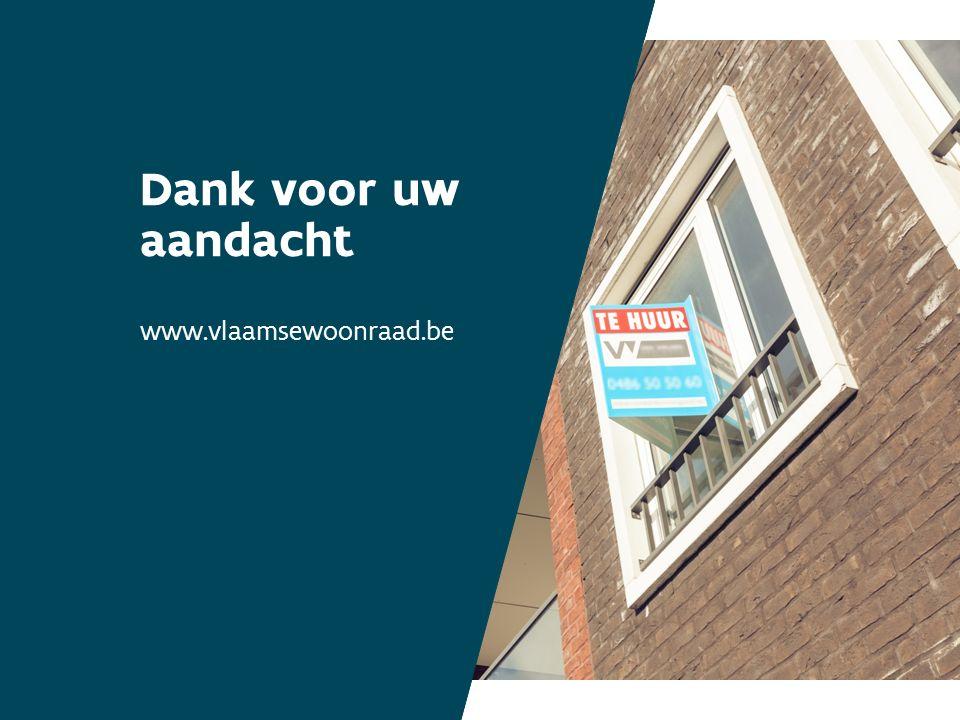 Dank voor uw aandacht www.vlaamsewoonraad.be