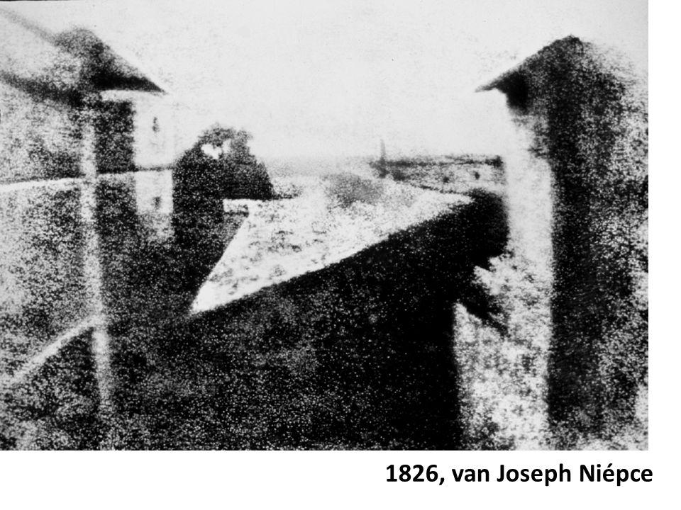 1826, van Joseph Niépce