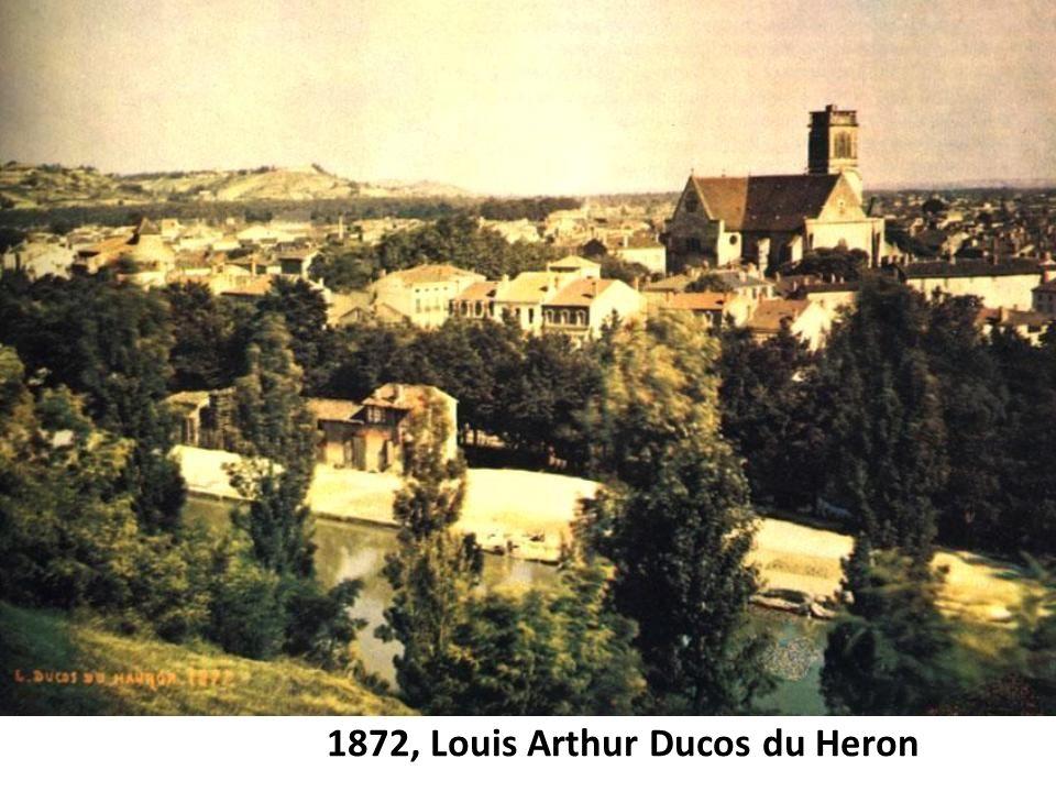 1872, Louis Arthur Ducos du Heron