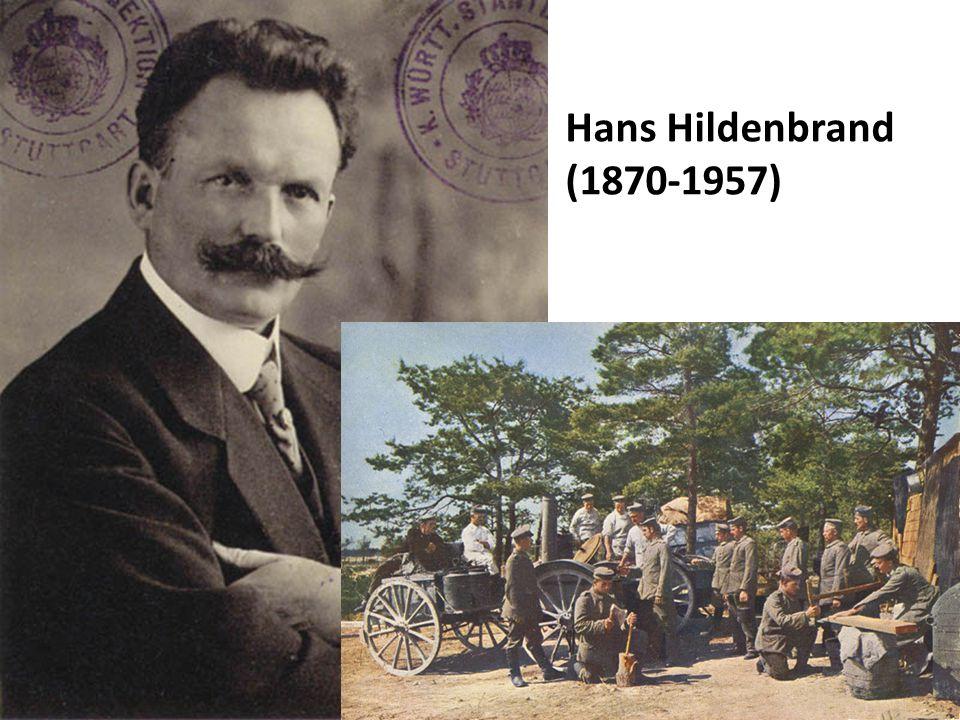 Hans Hildenbrand (1870-1957)