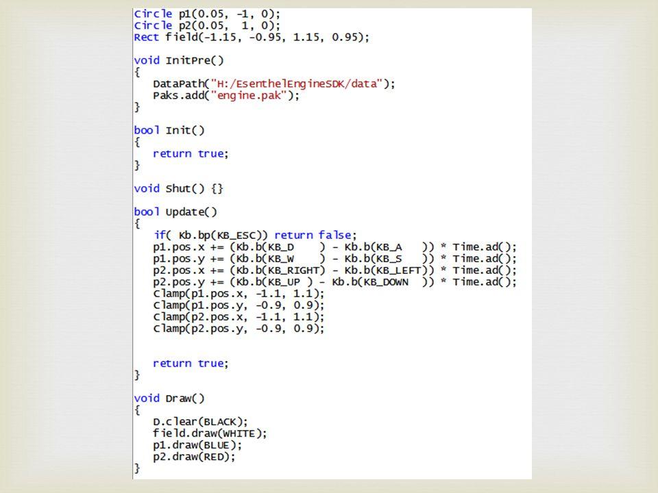  p1.pos.x += (Kb.b(KB_D) - Kb.b(KB_A)) * Time.ad();  p1.pos.x += … p1.pos.x = p1.pos.x + …  Kb.b(KB_D) is true of false.