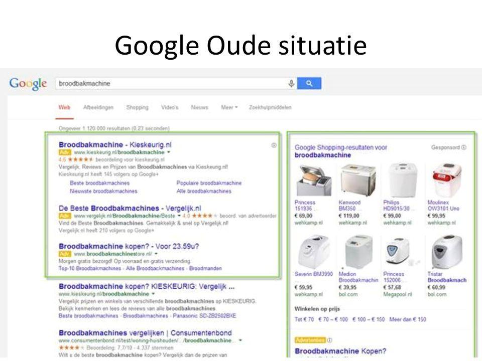 Google Oude situatie