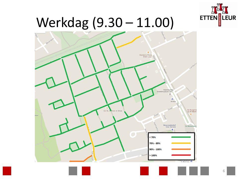 Werkdag (22.30 – 0.00) 7
