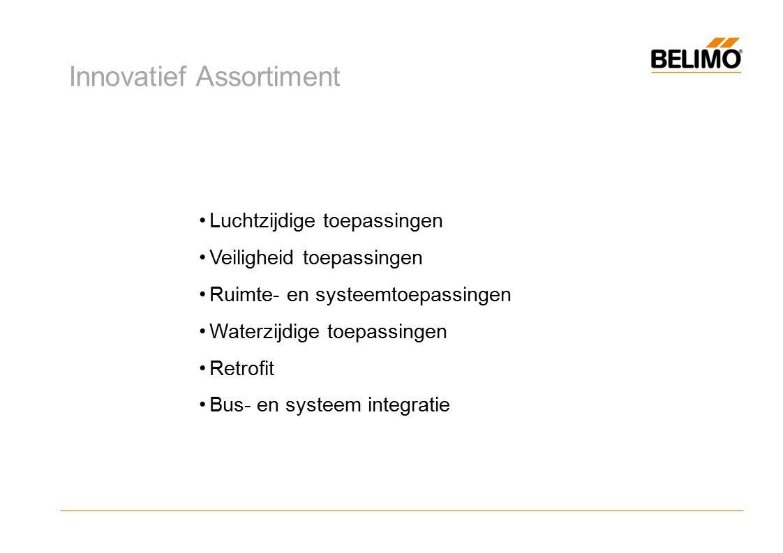 Over Belimo Assortiment Luchtzijdige toepassingen Veiligheidtoepassingen Ruimte- en systeemtoepassingen Waterzijdige toepassingen Retrofit Bus- en systeemintegratie Luchtzijdige toepassingen Veiligheid toepassingen Ruimte- en systeemtoepassingen Waterzijdige toepassingen Retrofit Bus- en systeem integratie Innovatief Assortiment