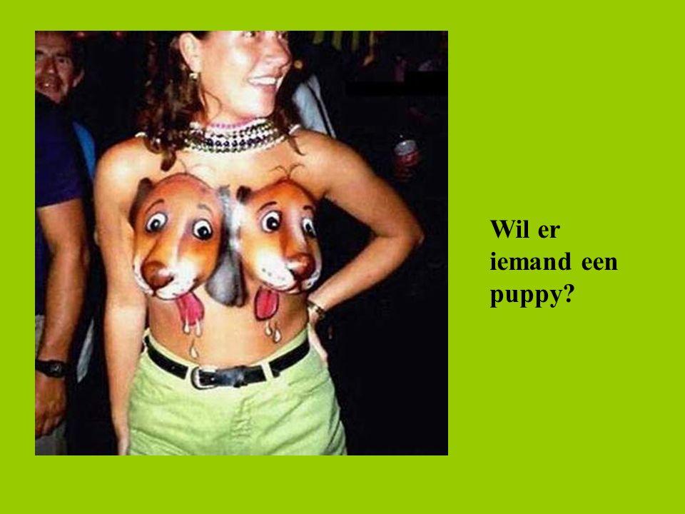 Wil er iemand een puppy