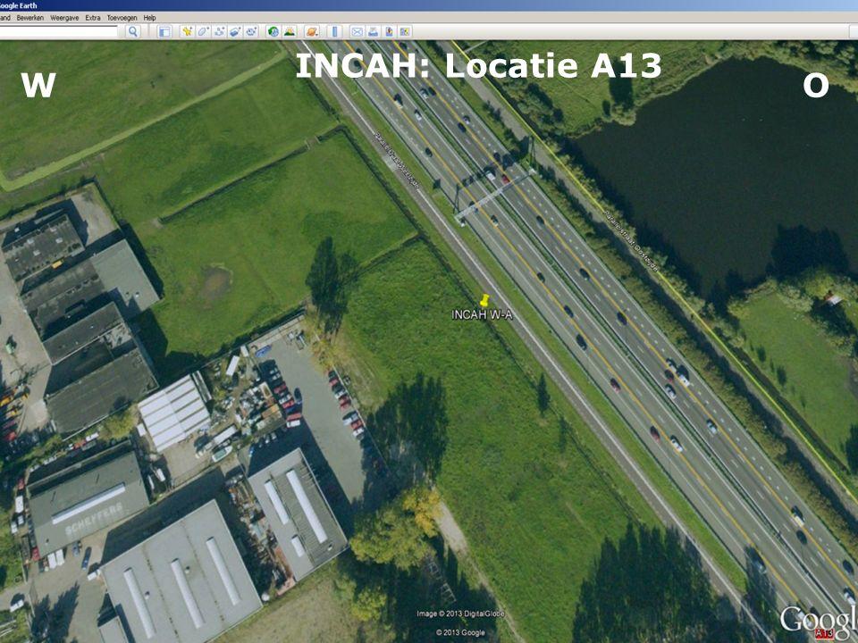 Maatvoering A13: -0,70 m NAP Parallelweg:-1,90 m NAP Maaiveld:-2,00 m NAP Waterbodem:-4,40 m NAP Polderpeil: -2,75 m NAP Waterpeil: -2,75 m NAP WO