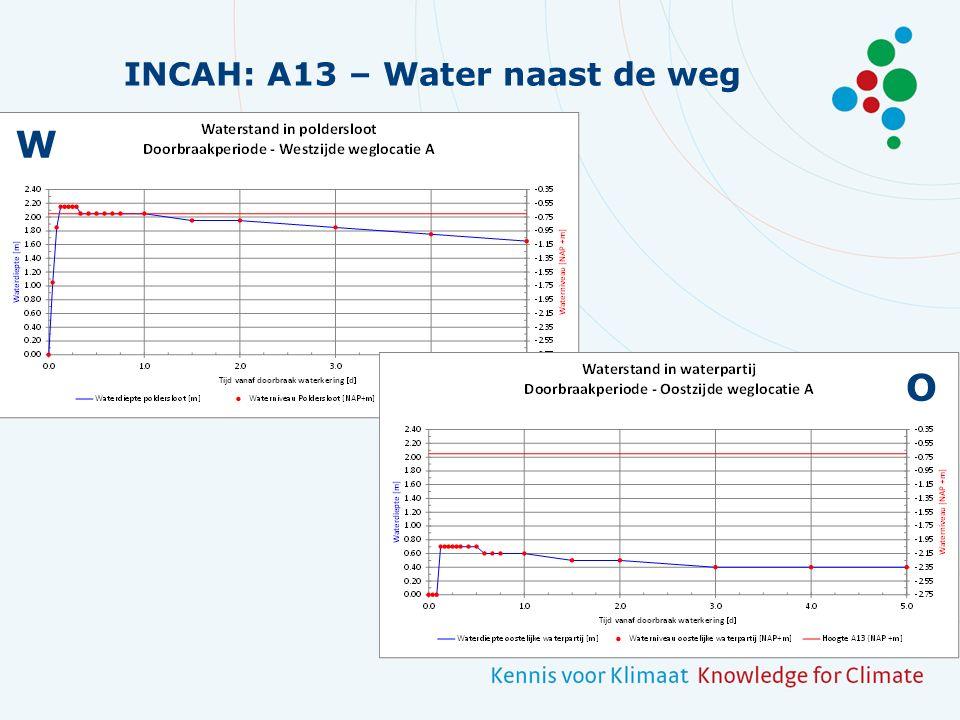 INCAH: A13 – Water naast de weg W O