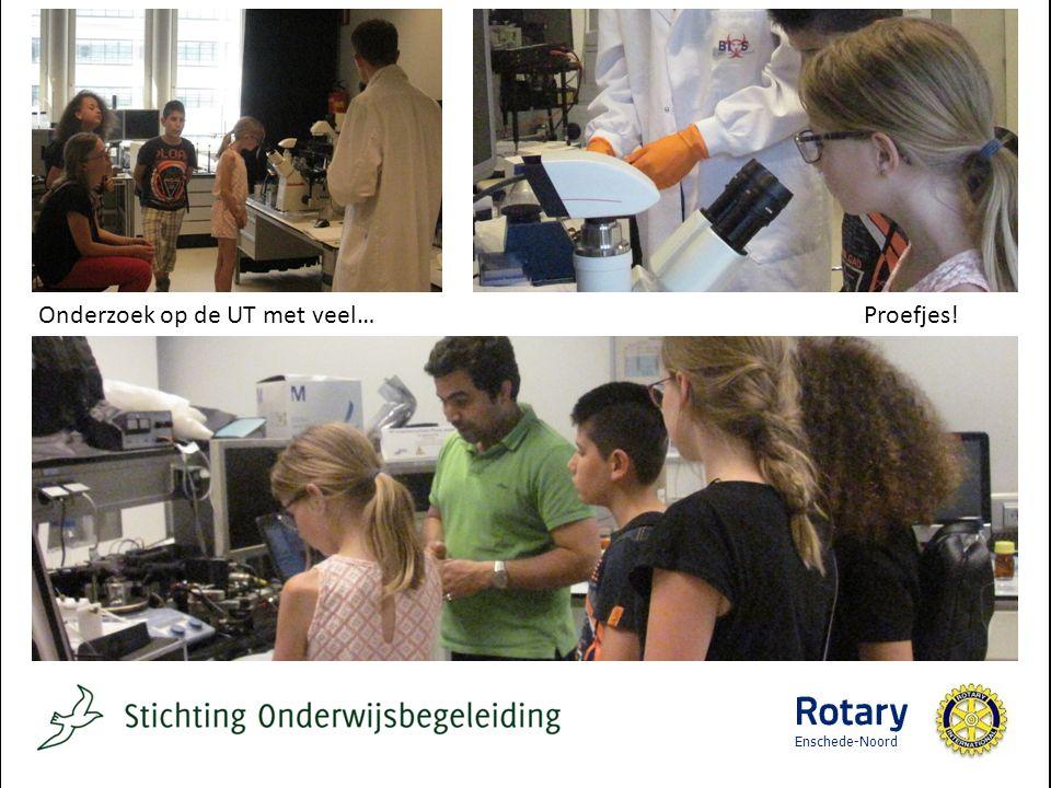 Onderzoek op de UT met veel… Proefjes! Enschede-Noord