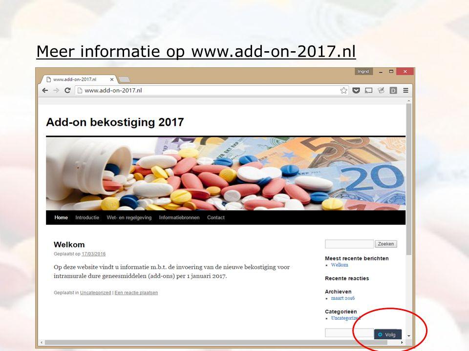 Meer informatie op www.add-on-2017.nl