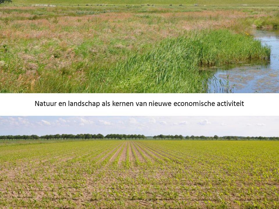 Natuur en landschap als kernen van nieuwe economische activiteit