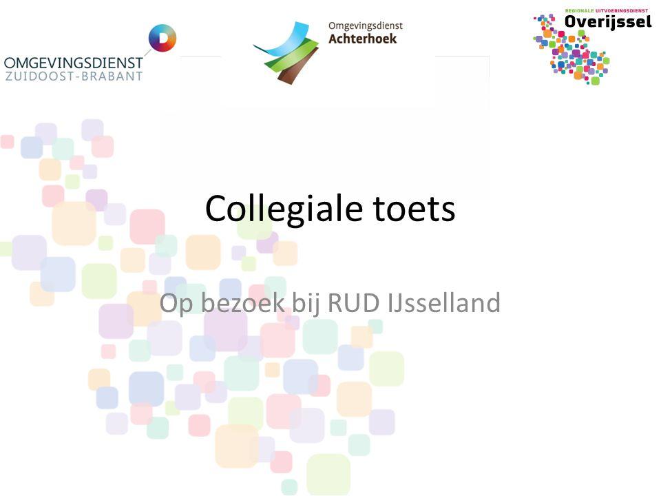 Collegiale toets Op bezoek bij RUD IJsselland