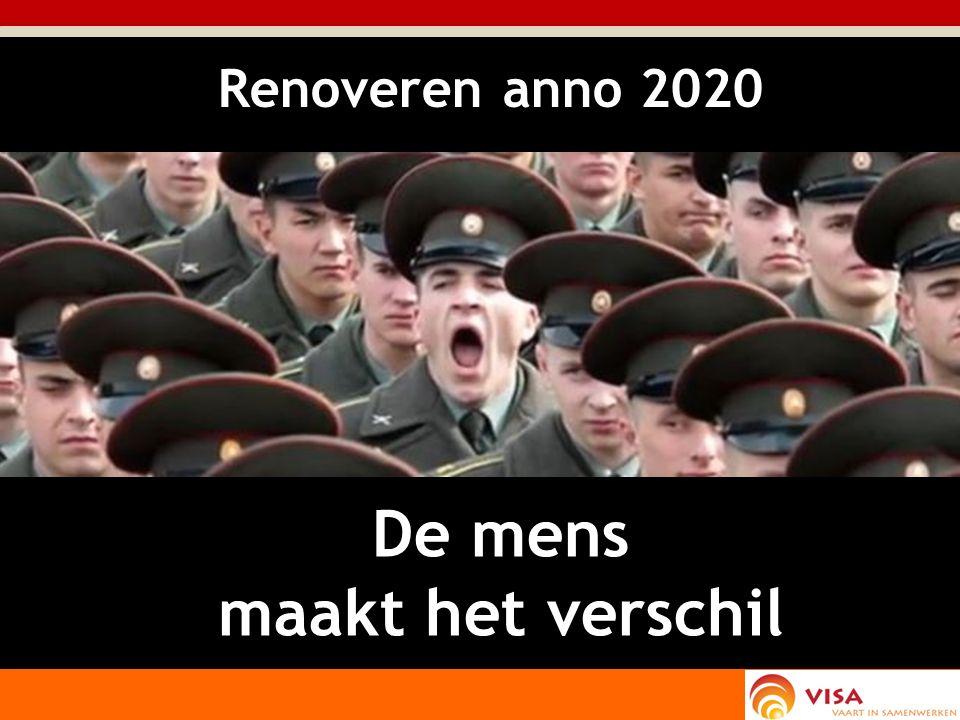 De mens maakt het verschil Renoveren anno 2020