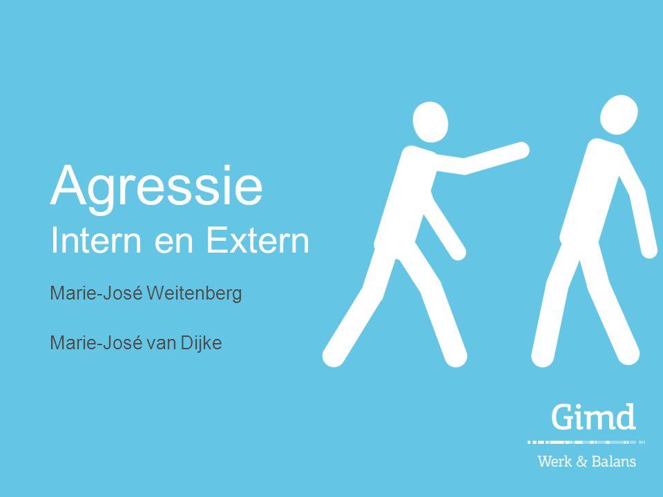 Agressie Intern en Extern Marie-José Weitenberg Marie-José van Dijke