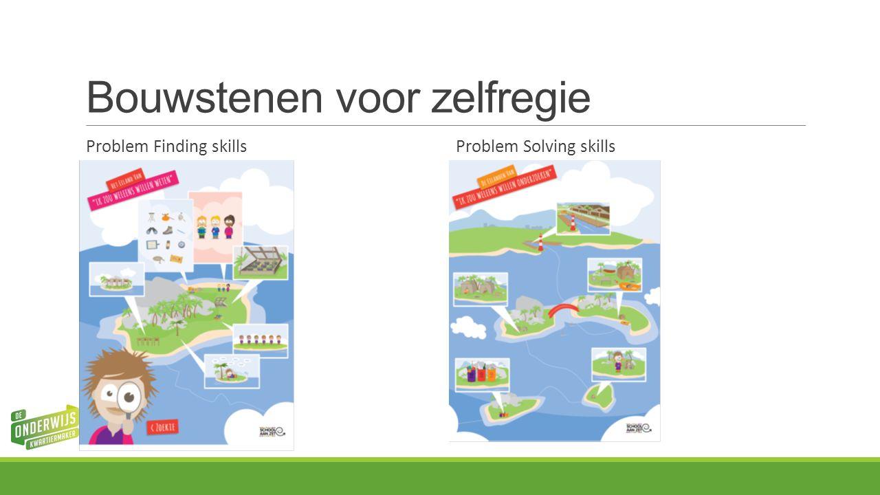 Bouwstenen voor zelfregie Problem Finding skills Problem Solving skills