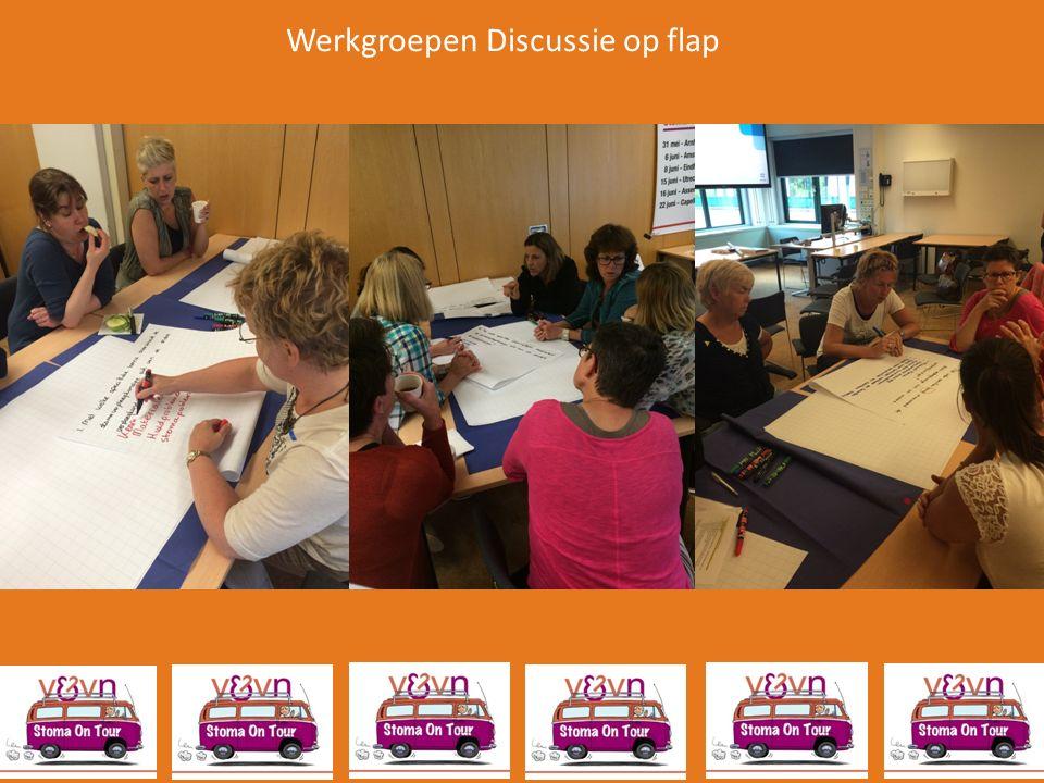Werkgroepen Discussie op flap