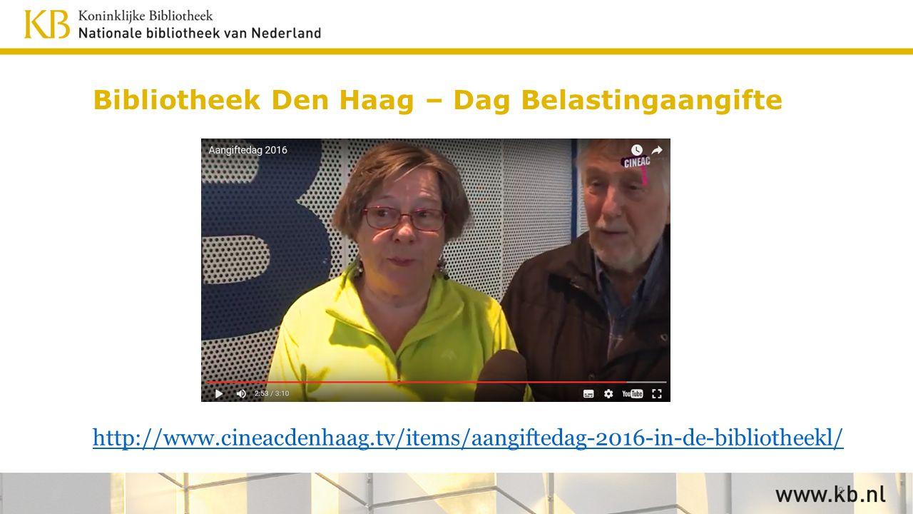 Bibliotheek Den Haag – Dag Belastingaangifte http://www.cineacdenhaag.tv/items/aangiftedag-2016-in-de-bibliotheekl/ 9