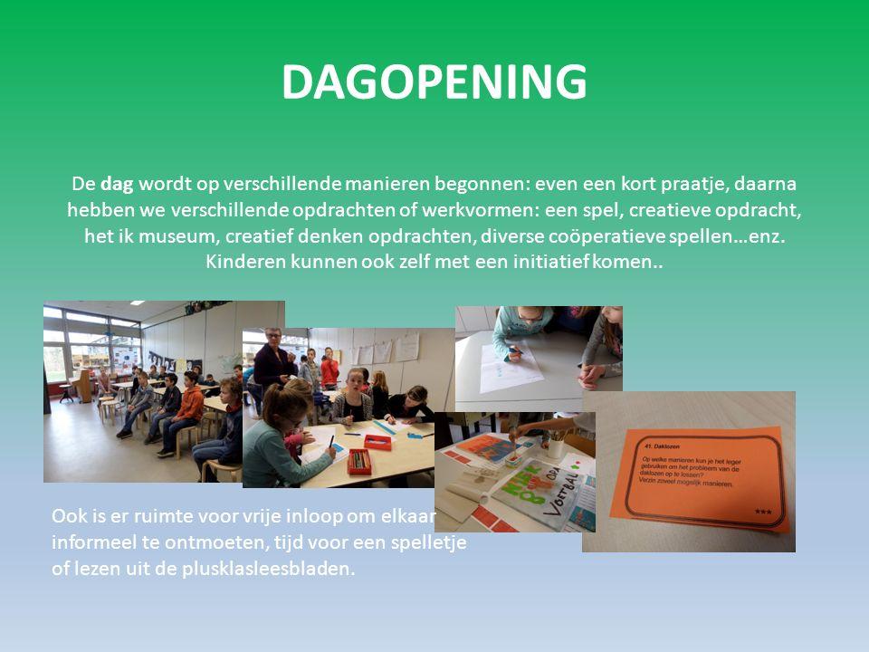 Media * Onze plusklas heeft een eigen site: www.plusklasommen.nl Hierop staat alle (actuele) informatie over de plusklas zelf.