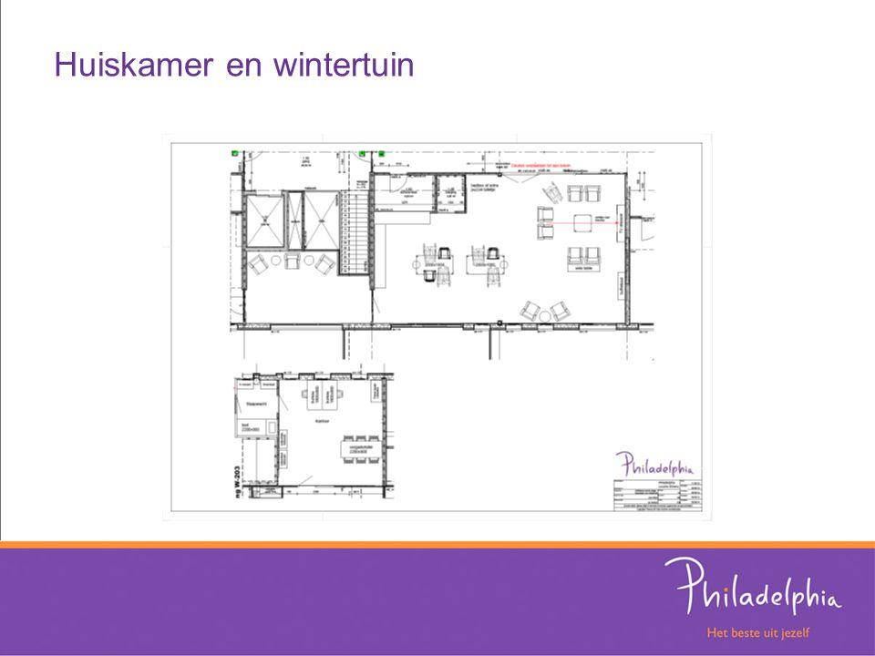Huiskamer en wintertuin