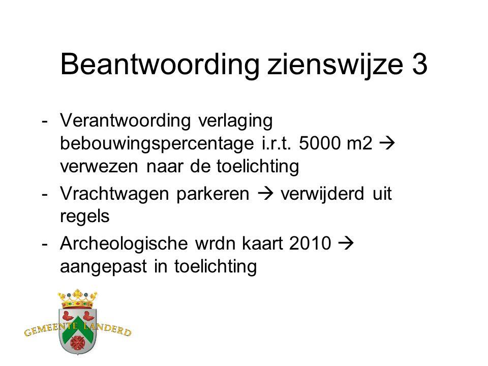 Ambtelijke wijzigingen - Milieuzone- geurzone - Aanduiding archeologie - Overige