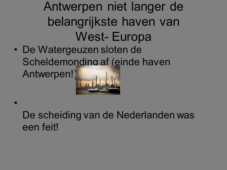 Gouden of Ongelukseeuw .Voor de Zuidelijke Nederlanden werd het een Ongelukseeuw.
