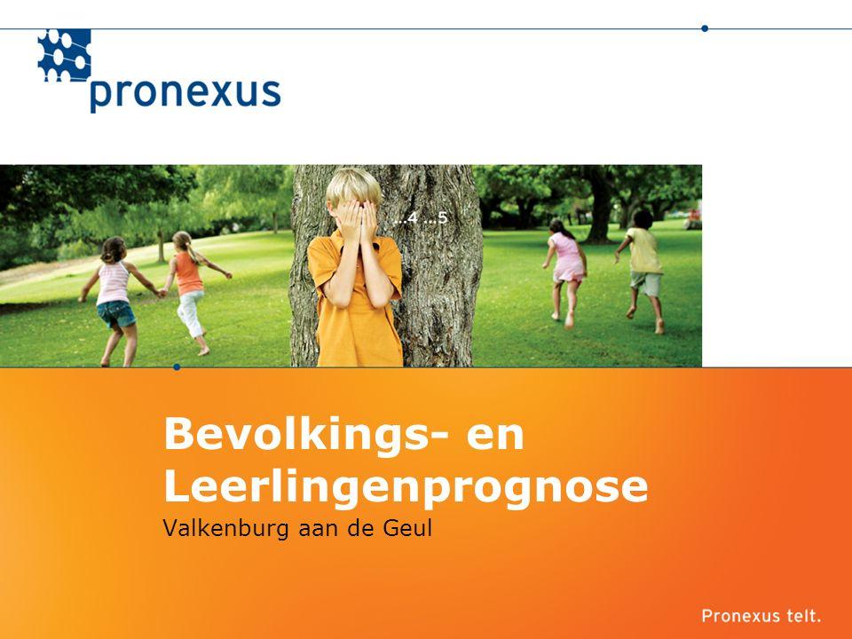 Bevolkings- en Leerlingenprognose Valkenburg aan de Geul