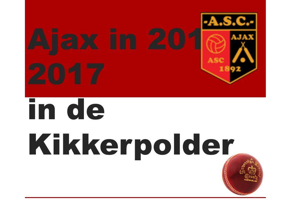 Ajax in 2016- 2017 in de Kikkerpolder