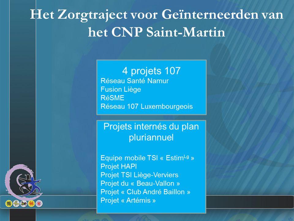 Het Zorgtraject voor Geïnterneerden van het CNP Saint-Martin