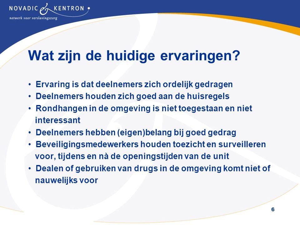 7 Meer informatie: Kom naar de open middag of avond van de unit of mail naar: informatie@novadic-kentron.nl