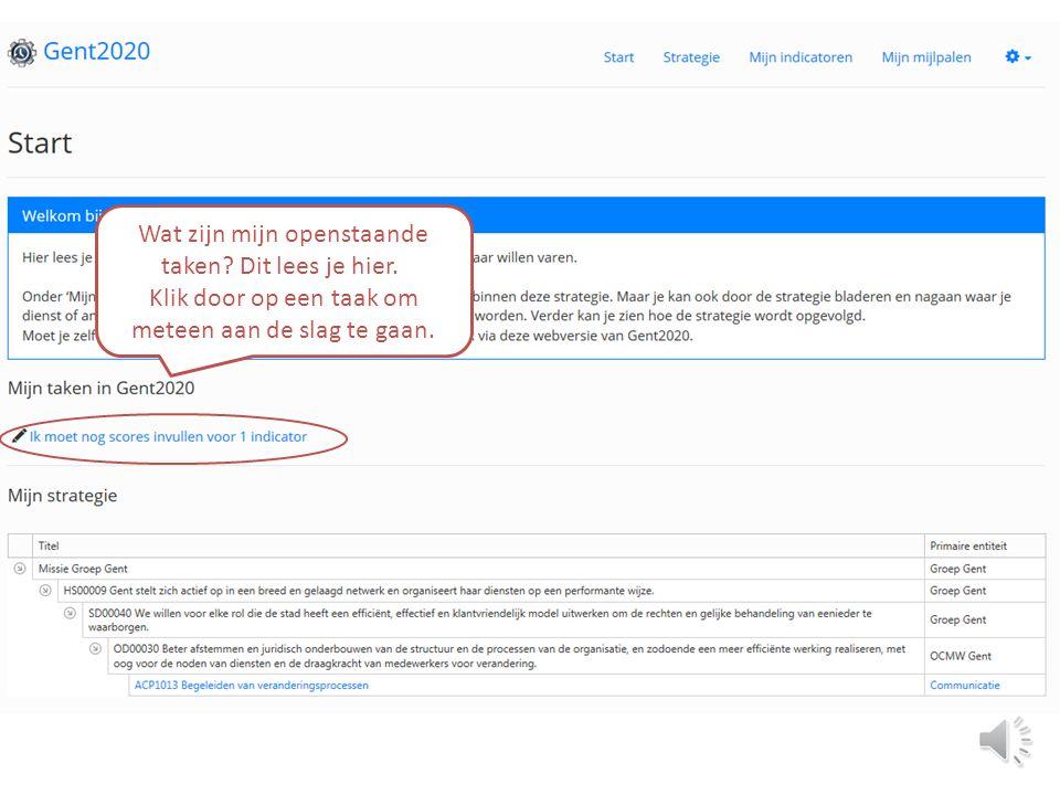 Welkom. Jij hebt een actieve rol in deze webversie Gent2020.