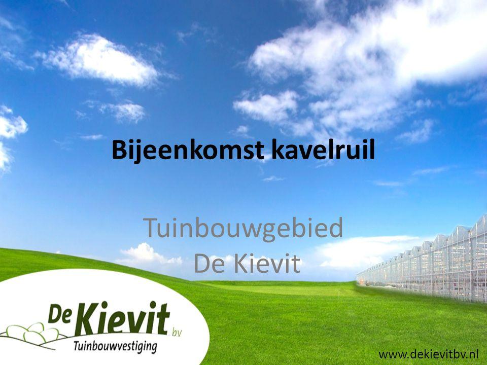 Bijeenkomst kavelruil Tuinbouwgebied De Kievit www.dekievitbv.nl