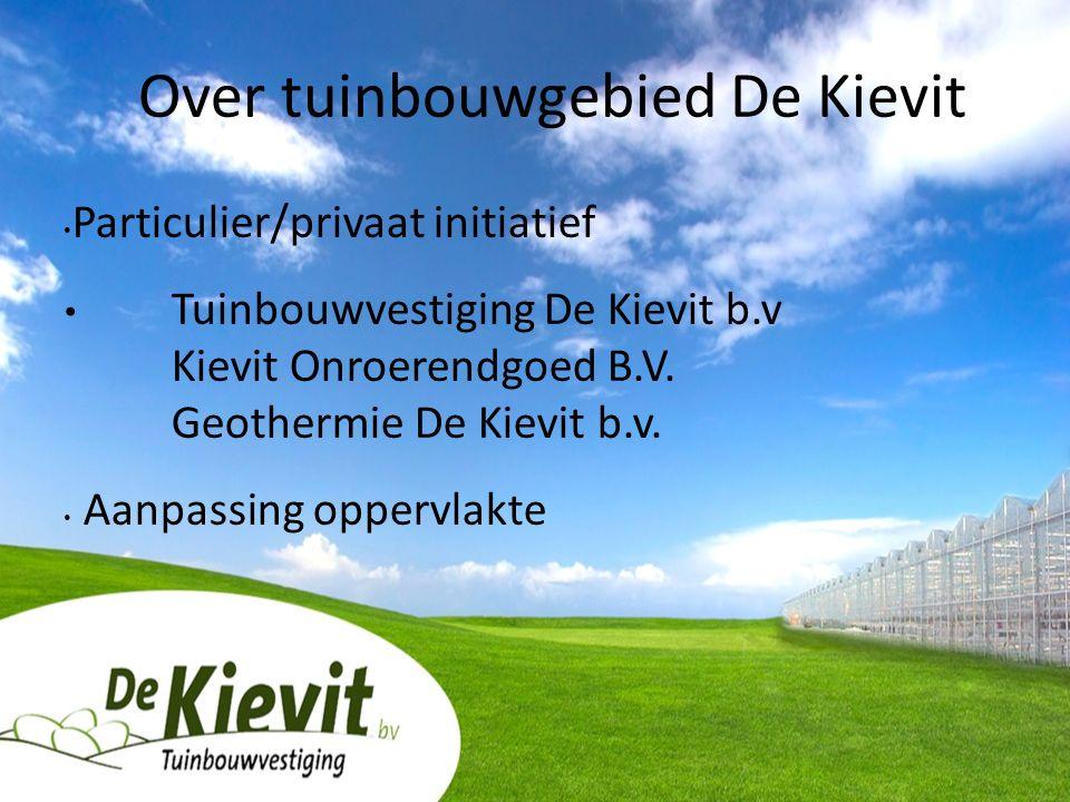 Particulier/privaat initiatief Tuinbouwvestiging De Kievit b.v Kievit Onroerendgoed B.V.