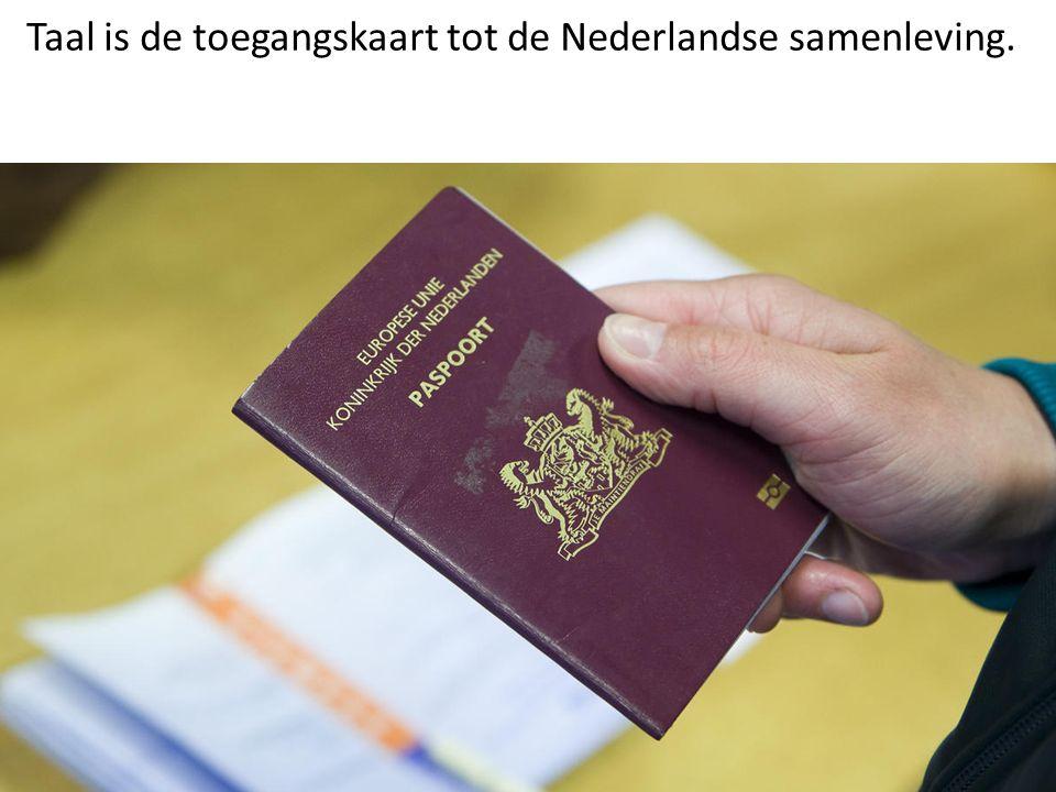 De en Vluchteling Taal is de toegangskaart tot de Nederlandse samenleving.