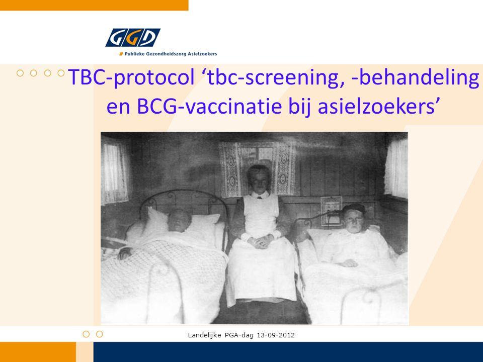 TBC-protocol 'tbc-screening, -behandeling en BCG-vaccinatie bij asielzoekers'