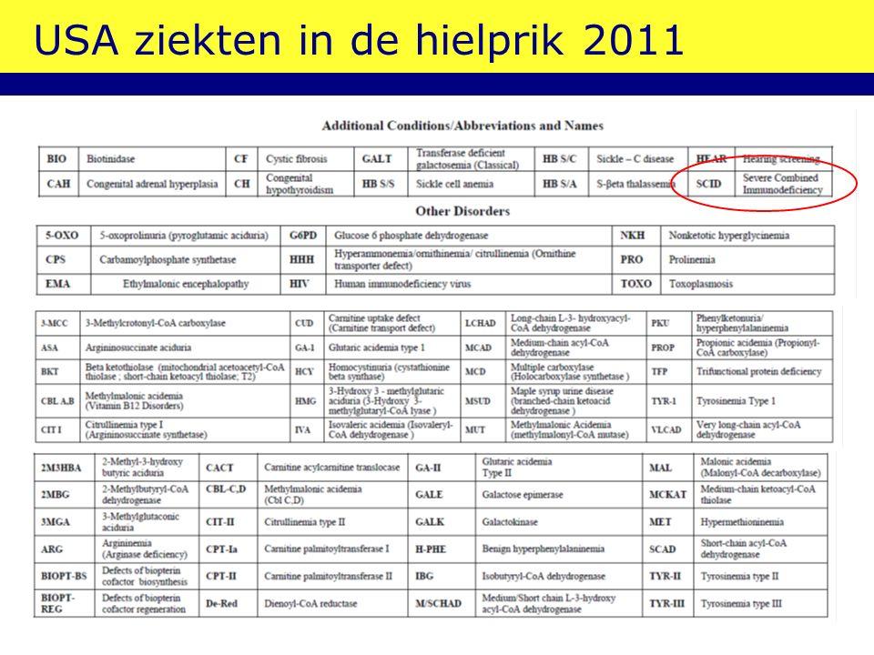 SCID: immuun deficientie; stamcellen! McGhee 2005