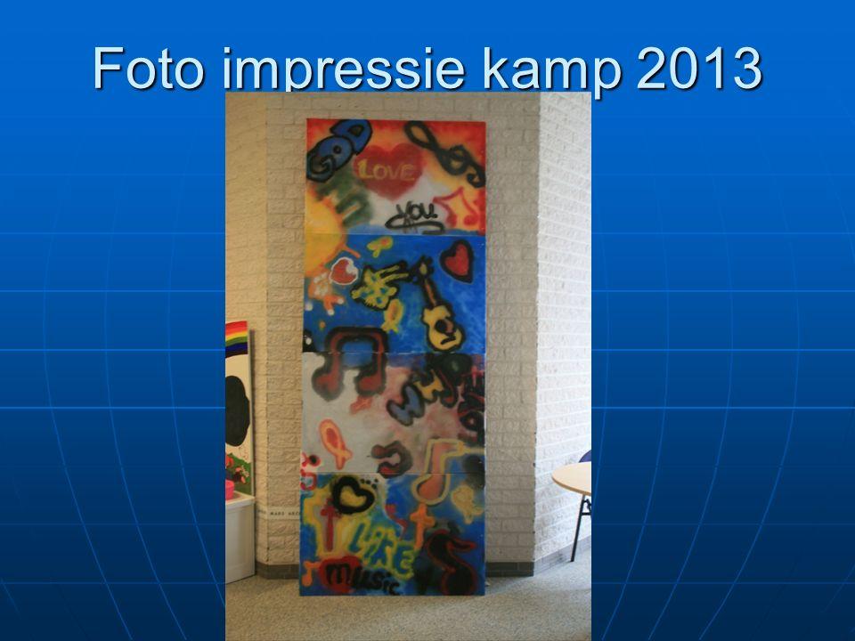Foto impressie kamp 2013