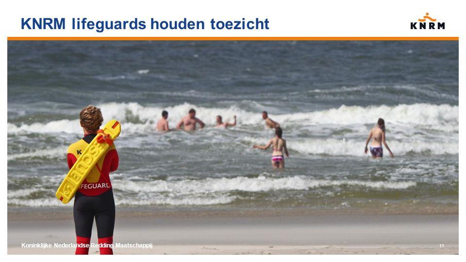 KNRM lifeguards houden toezicht Koninklijke Nederlandse Redding Maatschappij 11