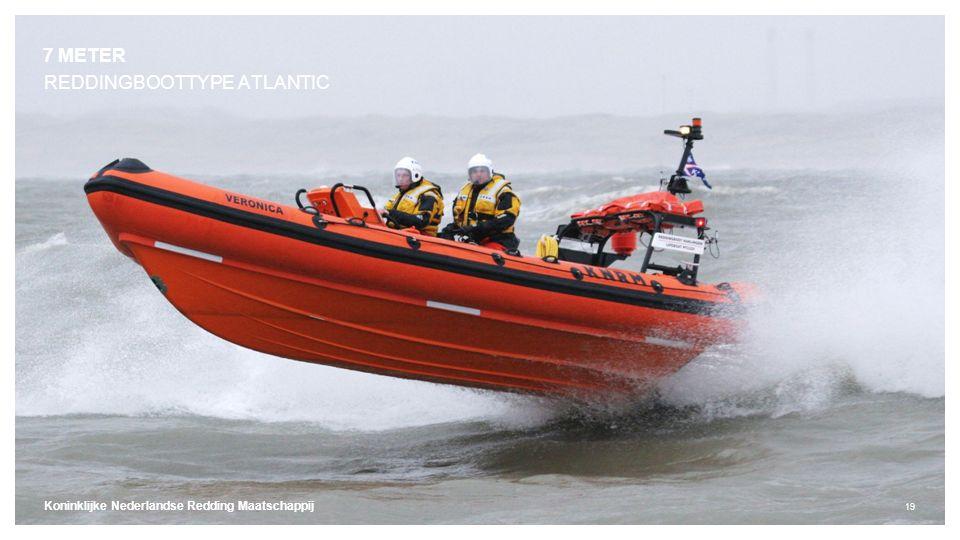 Koninklijke Nederlandse Redding Maatschappij 19 REDDINGBOOTTYPE ATLANTIC 7 METER