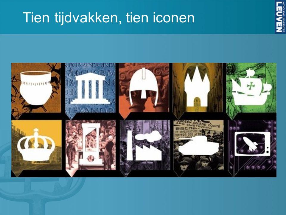 Tien tijdvakken, tien iconen