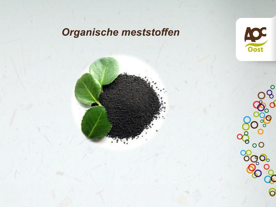 Organische meststoffen test