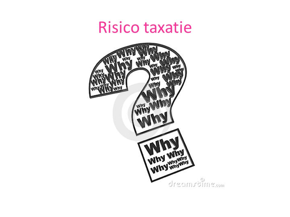 Risico taxatie