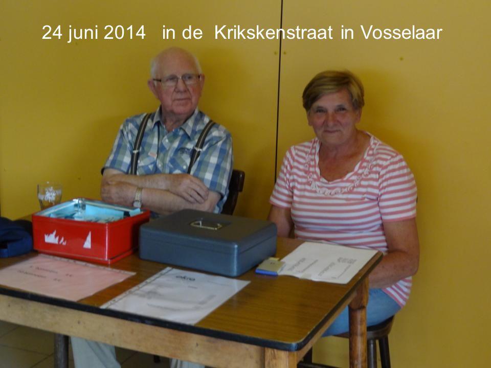 24 juni 2014 in de Krikskenstraat in Vosselaar