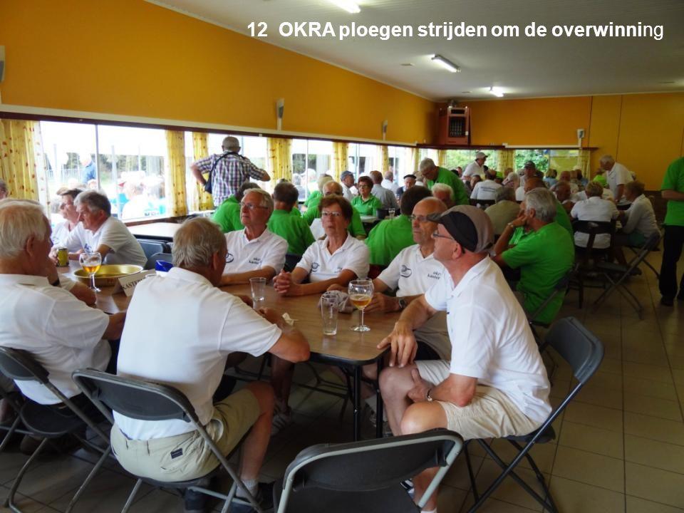 12 OKRA ploegen strijden om de overwinning