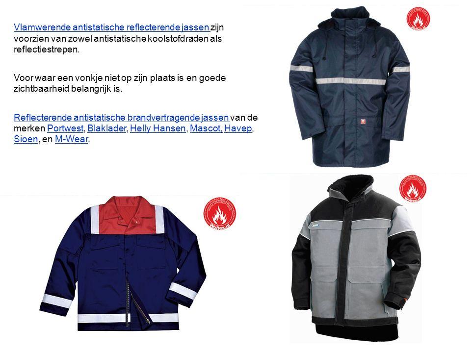 Vlamwerend antistatisch en reflecterend Vlamwerende jassen