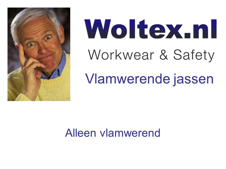 Woltex.nlWoltex.nl levert het grootste assortiment vlamwerende jassen en jacks, waaronder Proban, Pyrovatex en Tiprobatex.assortiment vlamwerende jassen en jacksProbanPyrovatexTiprobatex Het assortiment is in te delen in de volgende categorieën: -Alleen vlamwerendAlleen vlamwerend -Vlamwerend en antistatischVlamwerend en antistatisch -Vlamwerend en reflecterendVlamwerend en reflecterend -Vlamwerend, antistatisch en reflecterendVlamwerend, antistatisch en reflecterend