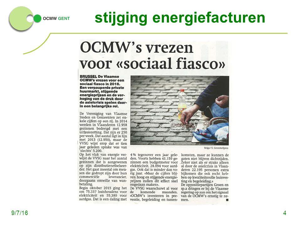 stijging energiefacturen 49/7/16