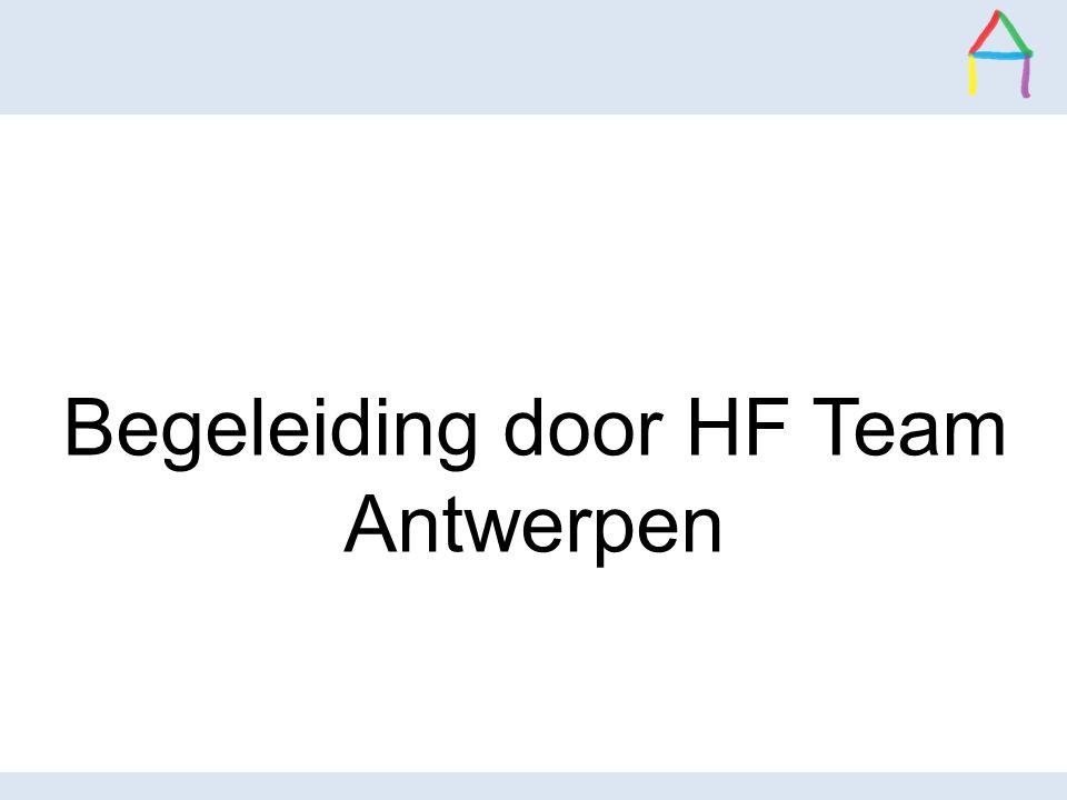 Begeleiding door HF Team Antwerpen