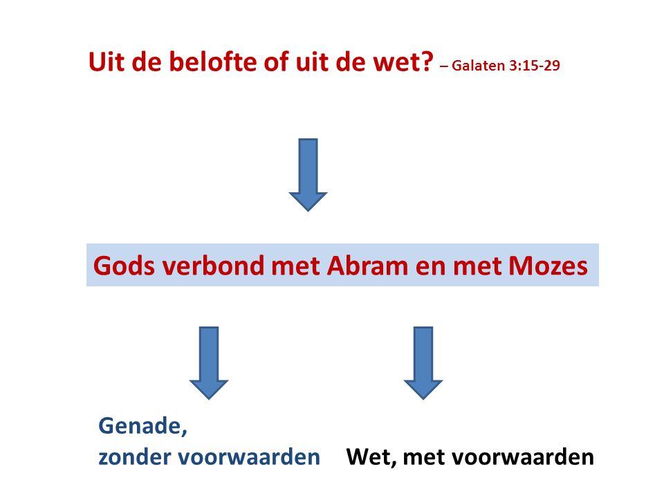 Hebreeën 6:13 Want toen God Abraham beloofde, zwoer Hij bij zichzelf, omdat Hij bij geen grotere kon zweren.