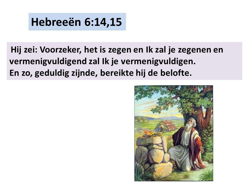 Hebreeën 6:16,17 Mensen zweren immers bij Iemand die hoger is, en de eed tot bevestiging is het einde van alle tegenspraak.